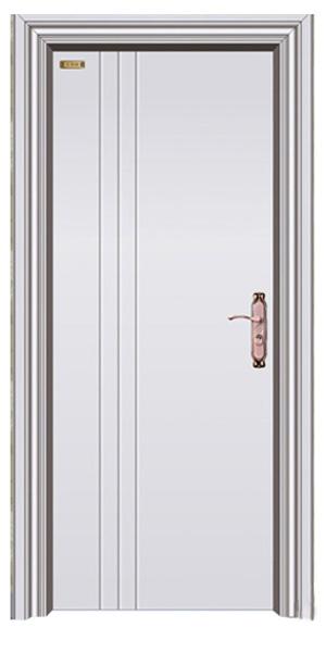 3d立体仿木纹门  纯白色门